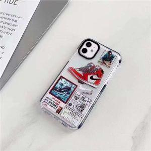 ナイキ iphone13 クリアケース おすすめ iphone12pro max/12ケース かっこいい ペア nike スマホケース11pro 海外 iphonex/xs max 透明カバー スニーカー柄