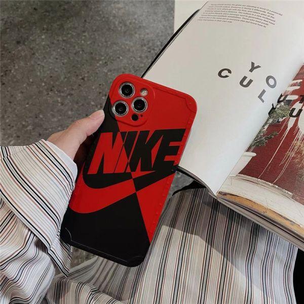 ナイキ iphone13pro max/12miniケース カッコイイ nike スマホケース12/11 お揃い ブランド iphonexs max/xr/se2 携帯カバー 軽い バイカラー アイフォンケース お洒落