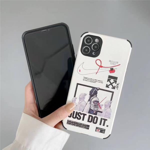 iphone13 ケース nike オフホワイト iphone12/12mini ケース 個性 的 兵馬俑 アイフォン11pro maxカバー オシャレ 海外 ナイキ スマホケースxs/xs max 衝撃 に 強い