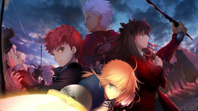 Top 5 Animes basados en videojuegos Fate 2 - Hanami Dango
