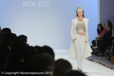 Meredes=Benz New York Fashion Week 2010 Maria Pryor S/S 2011