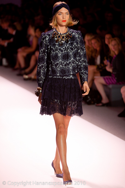 Mercedes-Benz New York Fashion Week 2010 Milly by Michelle Smith