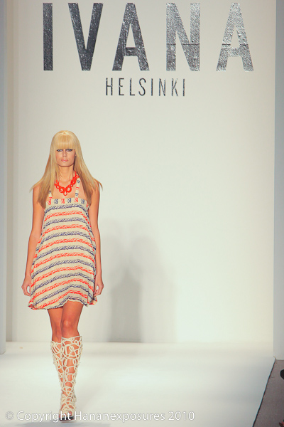 Mercedes-Benz New York Fashion Week 2010 Ivana Helsinki S/S 2011