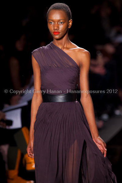 Monique Lhullier - Fall/Winter 2012 - Mercedes-Benz New York Fashion Week