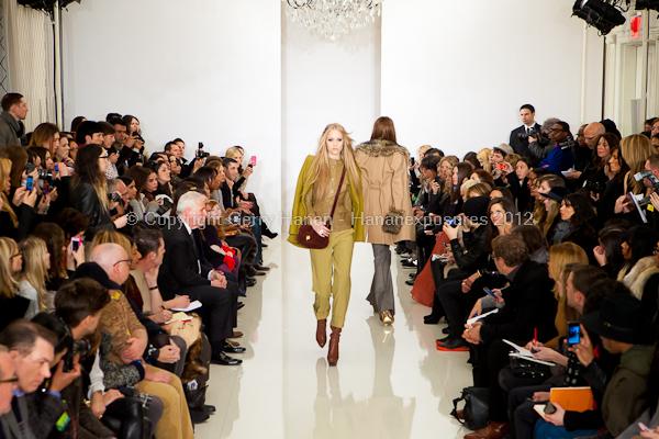 Rachel Zoe - Fall Winter 2012 - Mercedes-Benz New York Fashion Week