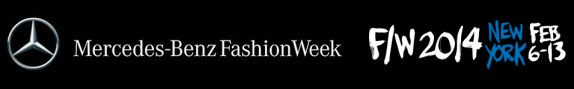 Fall Winter 2014 Mercedes-Benz New York Fashion Week