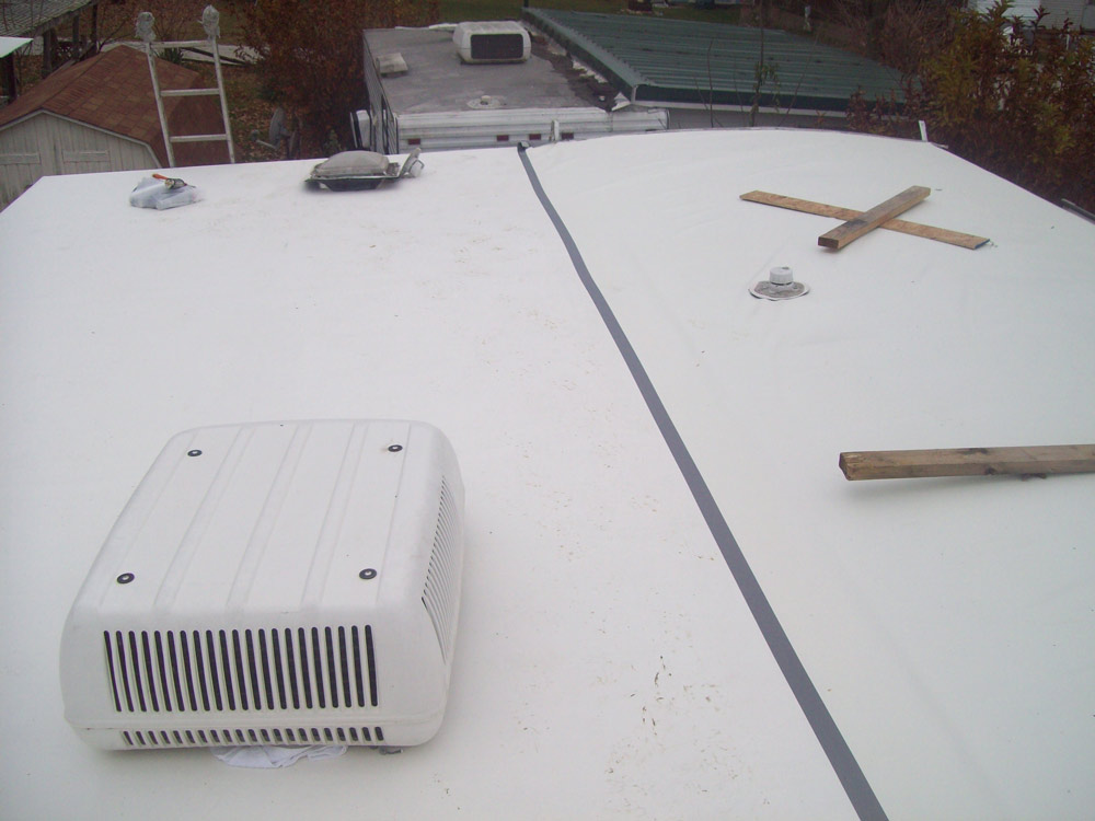 hancock rv rubber roof replacement service - Rv Rubber Roof Repair