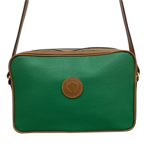 89eee7efb9d Delane – Green and Tan Shoulder Bag