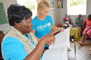 Felicity Wever for UNICEF. Felicity works within developing countries to help overcome the sanitation crises many are experiencing.