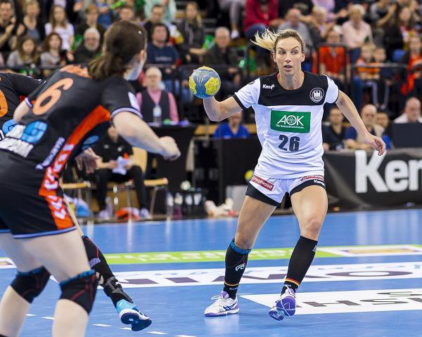 deutsche handballerinnen mit
