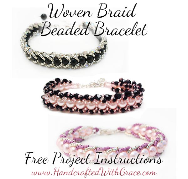 Woven Braid Beaded Bracelet Instructions Free PDF