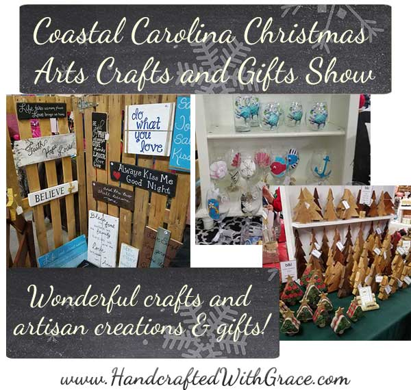 Wonderful Day at the Coastal Carolina Christmas Arts Crafts and Gifts Show
