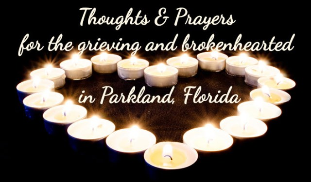 Prayers for Parkland Florida from Handcrafted With Grace