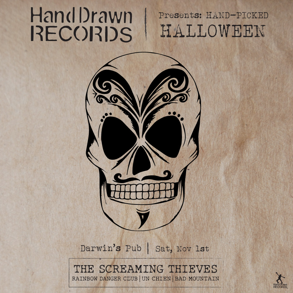 Hand Drawn Records Presents: Hand-Picked Halloween 2014