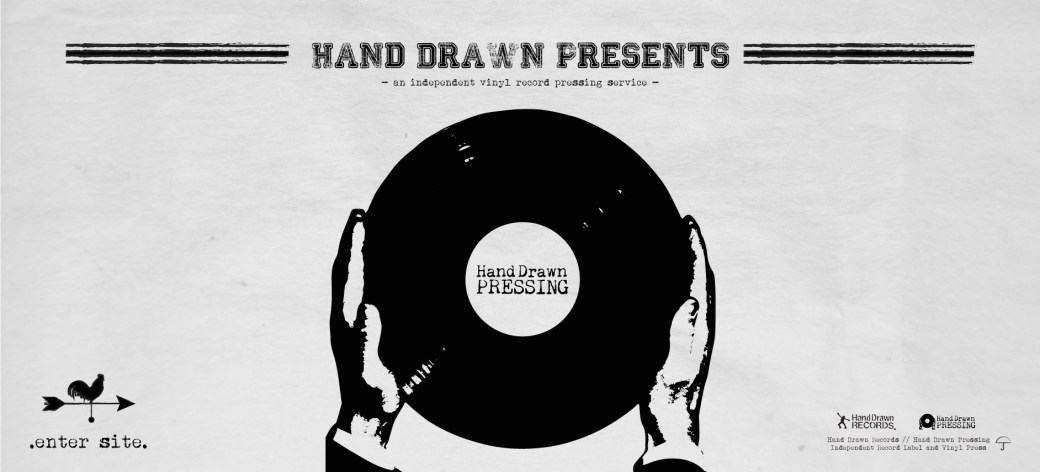 Hand Drawn Pressing: Independent Record Pressing Service