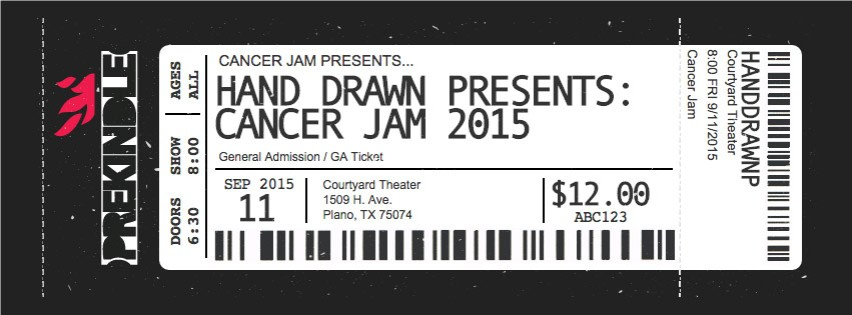 PREKINDLE TICKETING: Cancer Jam 2015 presented by Hand Drawn Records
