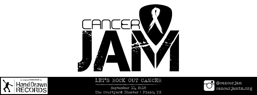PREKINDLE TICKETS: Hand Drawn Presents: Cancer Jam 2015 // The Courtyard Theater (Plano, TX): Sept 11th, 2015