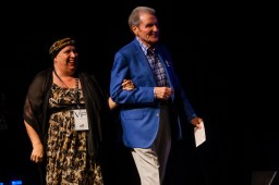 Cancer Jam 2015 Honoree: Linda Blocker with Mr. Charles Duke