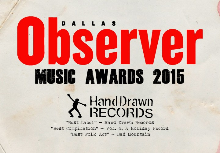 Hand Drawn Records Nominated