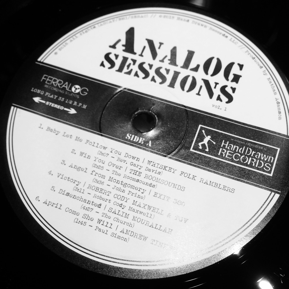 """""""Analog Sessions, Volume 1"""" by Various Artists // Hand Drawn Records // SIDE A"""
