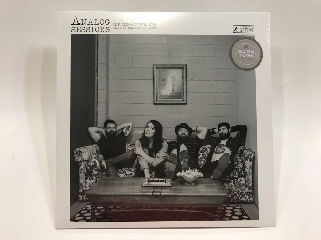"""""""Analog Sessions, Vol 3. Cut Throat Finches Live at Welcome to 1979"""" LP by Hand Drawn Records"""