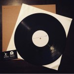 Hand Drawn Pressing: White Label Record