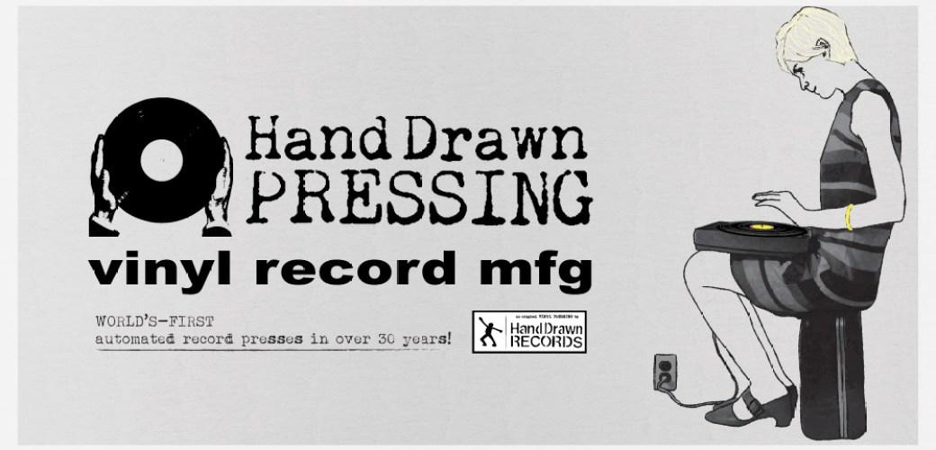 Hand Drawn Pressing: Vinyl Record Pressing Facility (Dallas, TX)