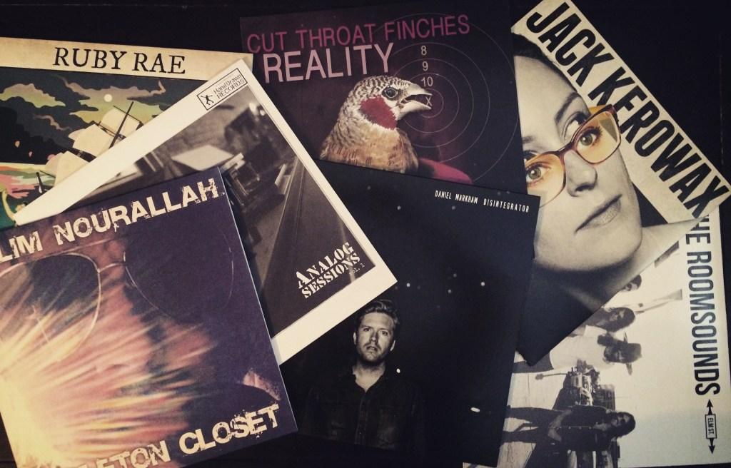 Vinyl Records // Jackets // Hand Drawn Pressing