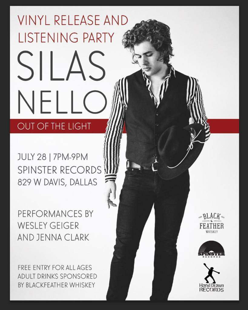 Silas Nello: Listening Party at Spinster Records (Oak Cliff, TX)