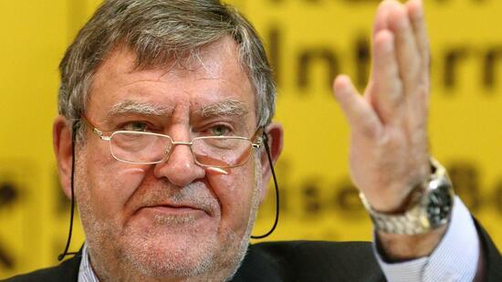 Herbert Stepic, Chef der österreichischen Raiffeisen Bank International (RBI), tritt zurück. Quelle: Reuters