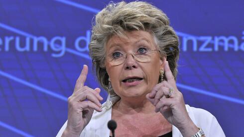 EU-Kommissarin Viviane Reding: Europa braucht ein starkes, richtungsweisendes Deutschland. Quelle: AFP