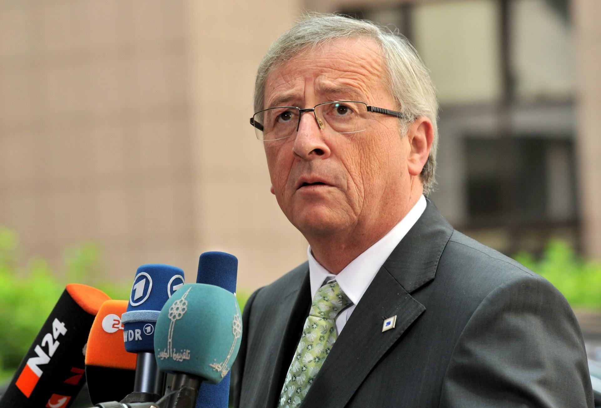 Luxemburgs Ministerpräsident Jean-Claude Juncker. Quelle: AFP