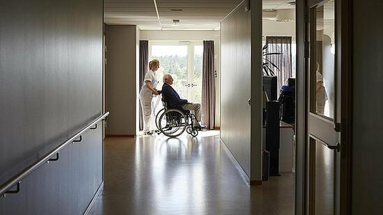Betreuung im Altenheim