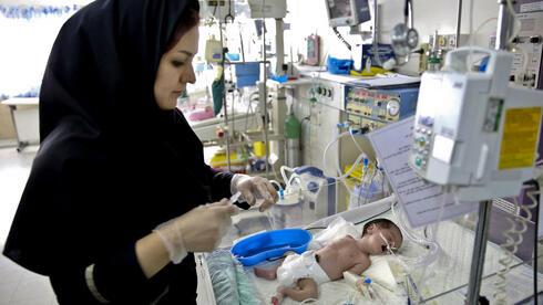 Eine Kinderklinik in Teheran: Hier sollen künftig mehr Kinder geboren werden – so will es jedenfalls die iranische Regierung. Quelle: ap