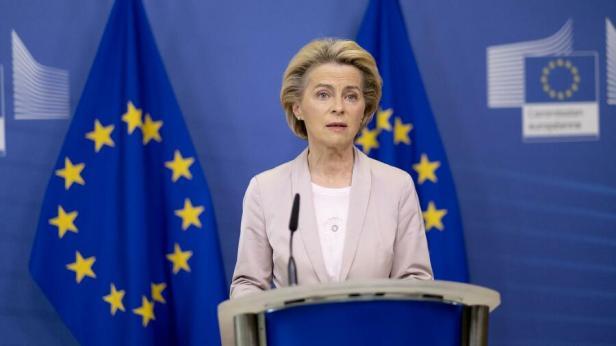 Für ihre neuen klimapolitischen Ziele findet die Kommissionspräsidenten in der Wirtschaft keinen Beifall. Quelle: action press