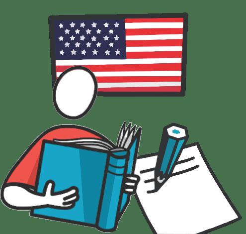 Falando, escrevendo inglês com a Handful
