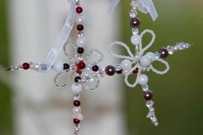 Stjärnor med pärlor, sidenband