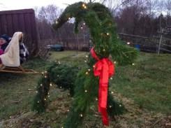 Julbocken på landet