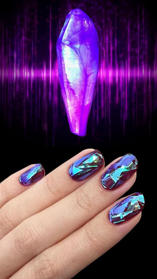 The Dark Crystal Nail Art