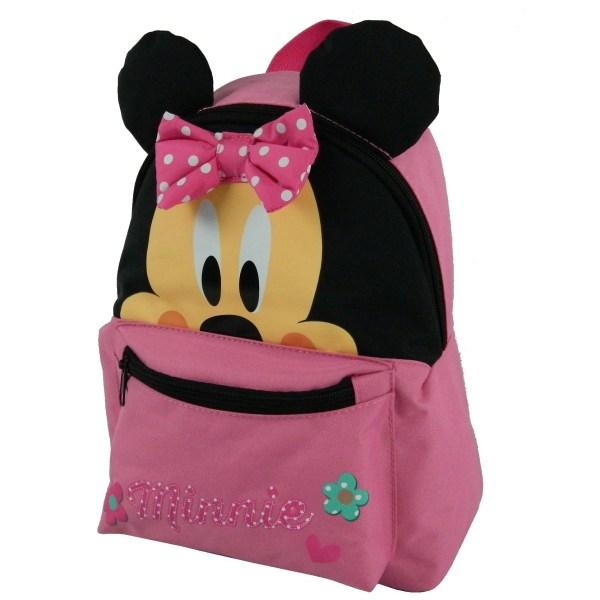 disney roze rugzak minnie mouse voor meisjes meisjes rugzak voorkant
