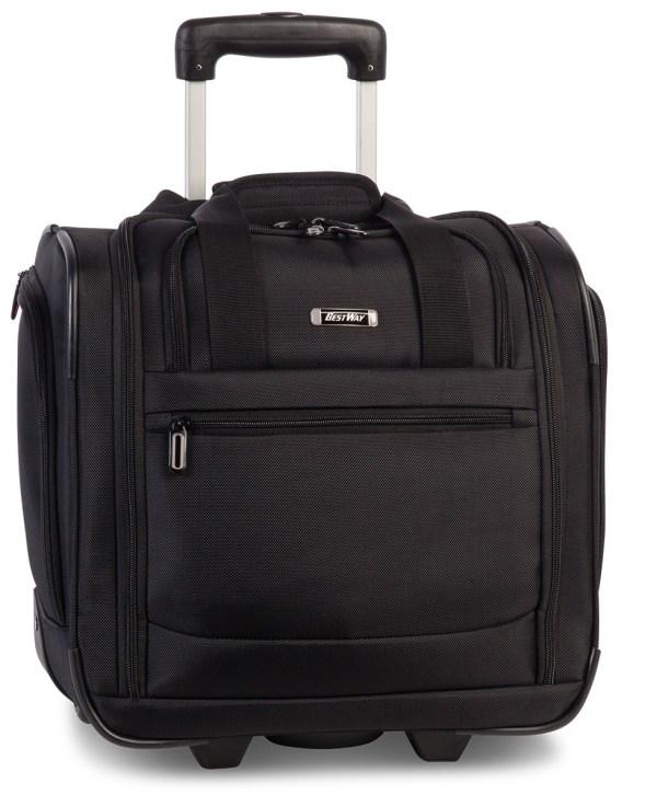 Trolley tas met wieltjes voor op reis makkelijk voor op vakantie