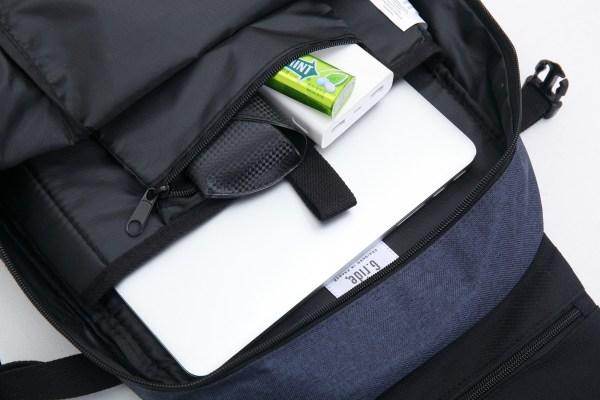 g.ride rugzak met laptopvak 24 liter donkerblauw 5 inhoud rugtas