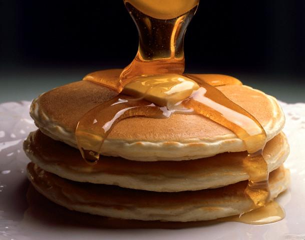 Pancakes! Yummy!