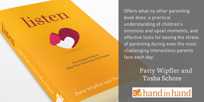 Listen: Five Simple Tools To Meet Your Everyday Parenting Challenges Book