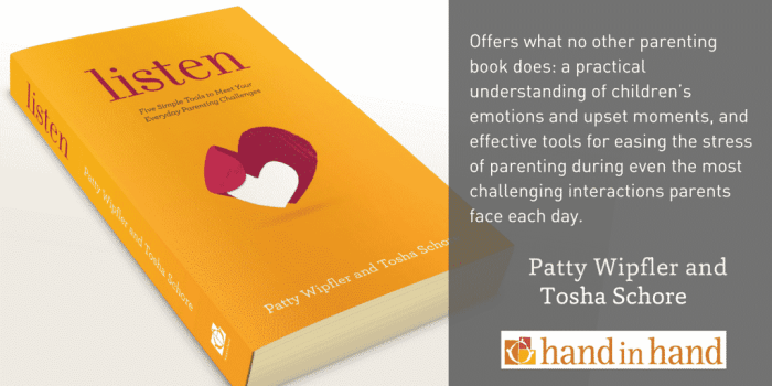 Image of the book Listen, Five Simple Tools To Meet Your Everyday Parenting Challenges