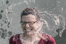 splashed mum