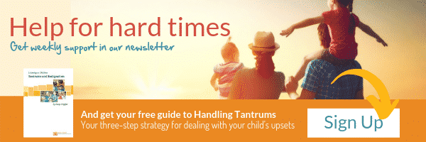 sign up to hand in hand parenting newsletter