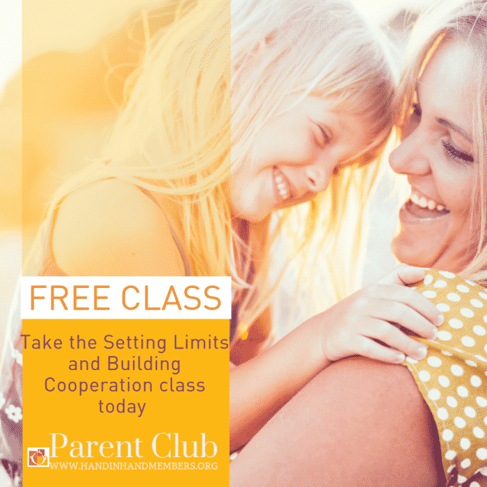 setting limits class is included in the hand in hand parent club