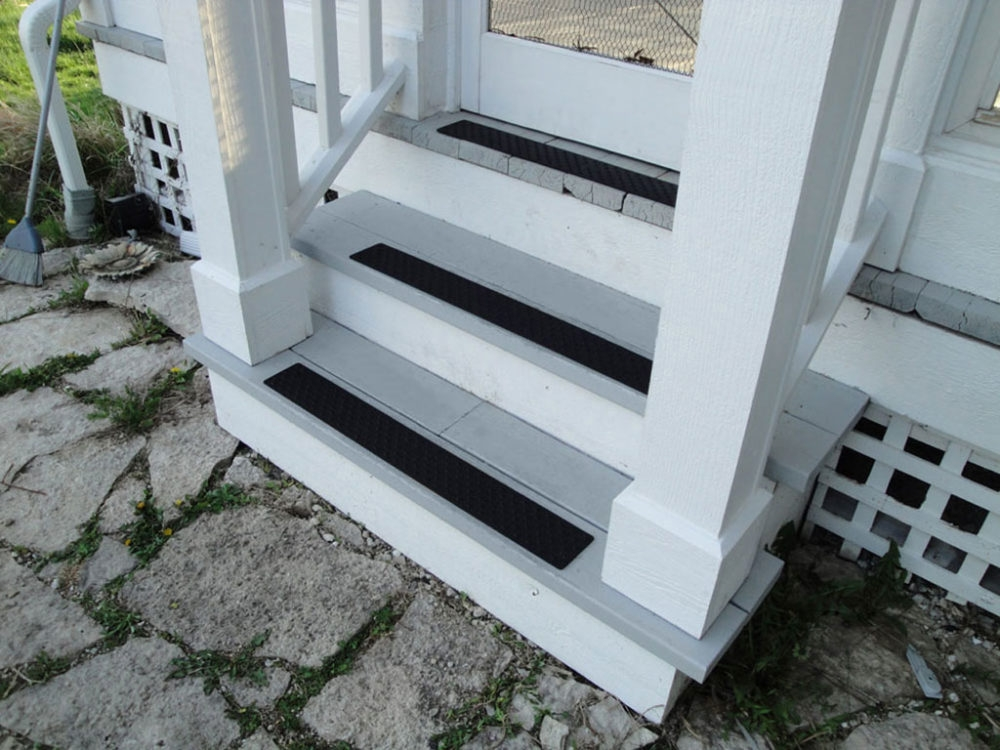 Handi Treads® Aluminum Non Slip Stair Treads Nosings Strips And | Decorative Non Slip Stair Treads | Stair Railing | Washable | Rugs | Dirt Proof | Rubber Backing