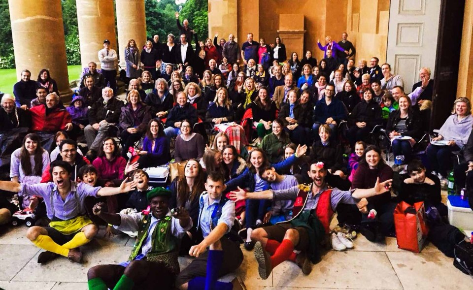 The HandleBards Perform At Stowe School
